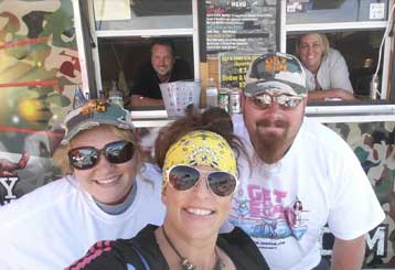 ODB's Meat and Greet Food Truck at Daytona Bike Week