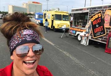ODB's Meat and Greet Food Truck at Mystic Lake Casino