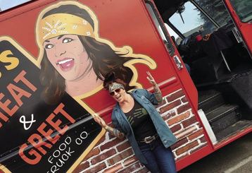 Osseo grad brings food truck to metro area