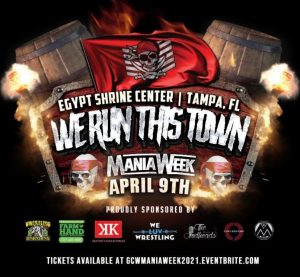 Egypt Shrine Center, Tampa Florida - We Run This Town - Mania Week - April 9th