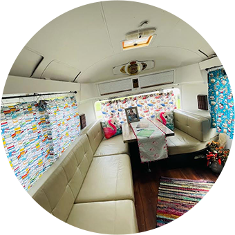Stay in ODB's Airstream